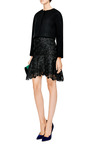 Giupure Lace Skirt by NINA RICCI Now Available on Moda Operandi