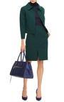 Double Face Wool Blend Cropped Jacket by NINA RICCI Now Available on Moda Operandi