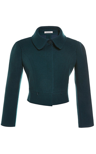 Medium nina ricci green cropped jacket