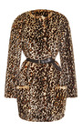 Printed Faux Fur Coat by NINA RICCI Now Available on Moda Operandi