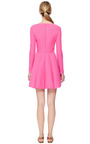 Wool And Silk Blend Crepe A Line Dress by VALENTINO Now Available on Moda Operandi