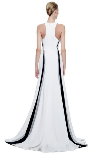Silk Crepe Gown by PRABAL GURUNG Now Available on Moda Operandi