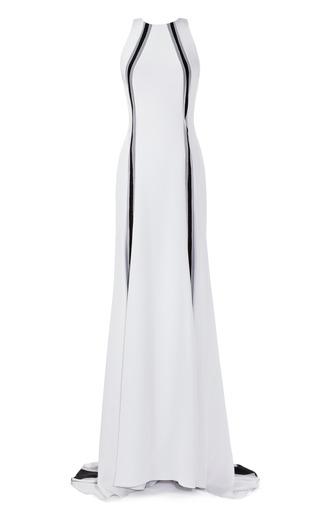 Medium prabal gurung black silk crepe gown