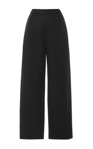 Medium carven black flannel pants