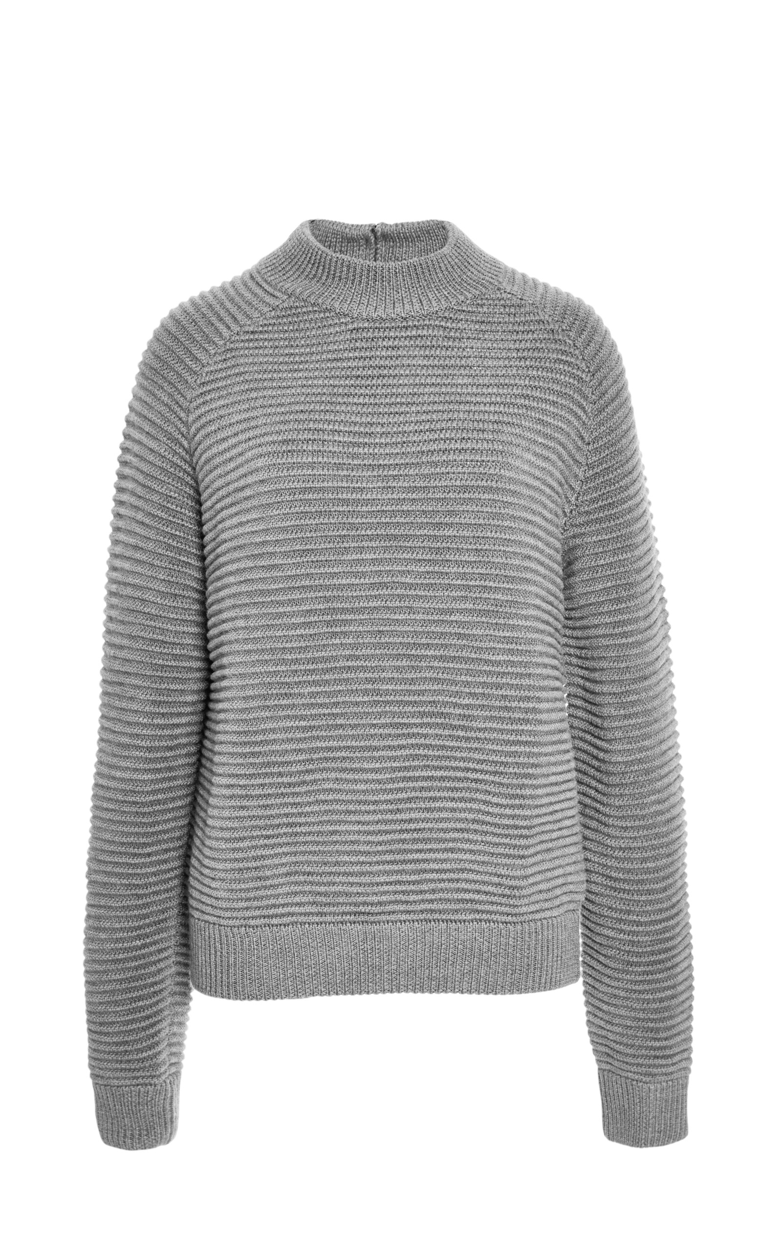 2420b4872c4c CarvenChunky Ribbed Wool Sweater. CLOSE. Loading