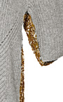 Wool Blend And Metallic Jacquard Sweater by ROCHAS Now Available on Moda Operandi