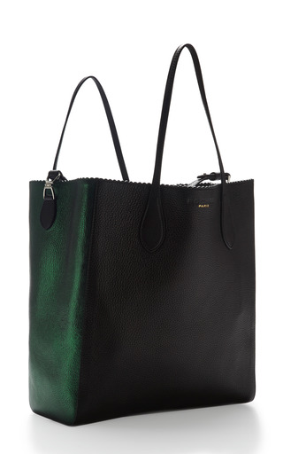 Two Tone Borsa Leather Tote by ROCHAS Now Available on Moda Operandi