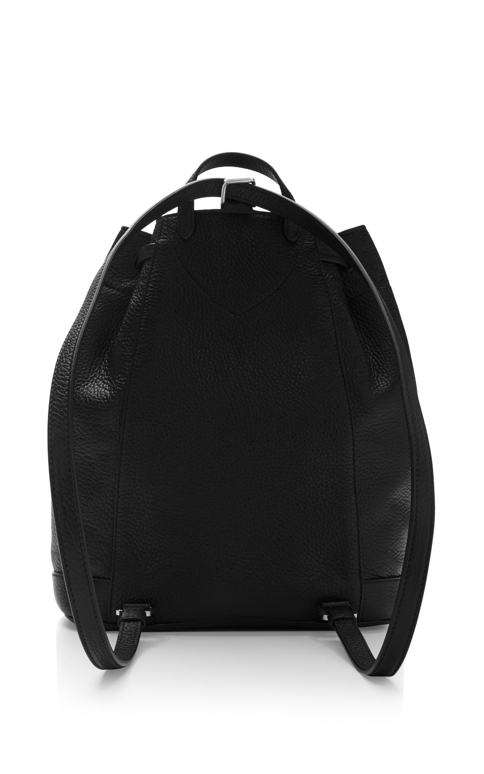 Margot Pebbled Leather Backpack By Rochas Moda Operandi