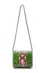 Daktari Crystal Embellished Python Bag by SHOUROUK Now Available on Moda Operandi