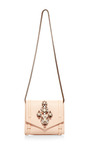Daktari Crystal Embellished Shoulder Bag by SHOUROUK Now Available on Moda Operandi
