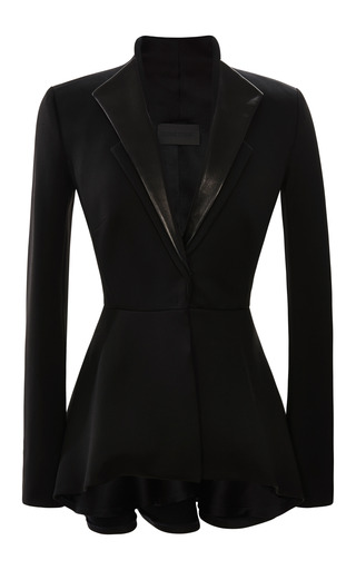 Medium cushnie et ochs black lullaby jersey jacket