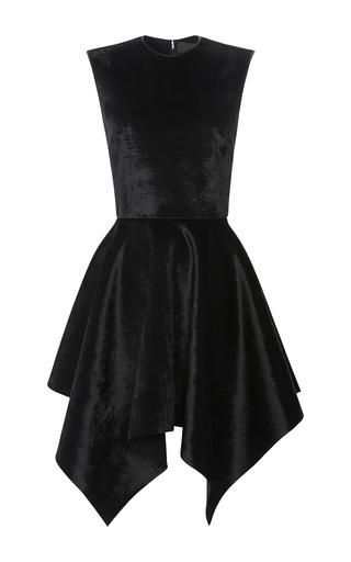 Medium cushnie et ochs black velvet neoprene dress