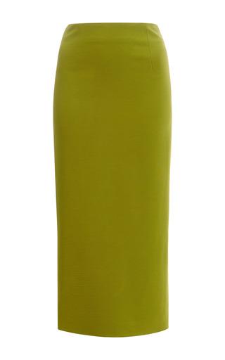 Medium cushnie et ochs green power viscose skirt