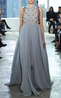 Long Shirt Dress With Train by DELPOZO for Preorder on Moda Operandi