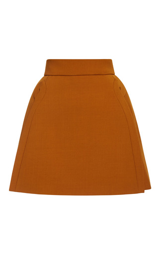 Medium delpozo black a line mini skirt