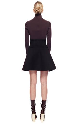 Short Cape Skirt With Wide Yoke by DELPOZO for Preorder on Moda Operandi