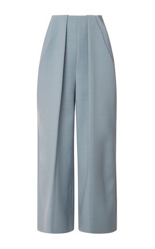Medium delpozo blue pant with symmetric pleats