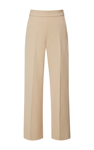 Medium delpozo white above ankle wide pant 4