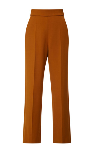 Medium delpozo brown above ankle wide pant 2