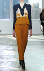 A Line Jacket With Collage by DELPOZO for Preorder on Moda Operandi
