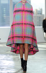 Quilted Cape Cut Coat by DELPOZO Now Available on Moda Operandi