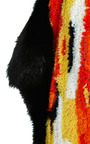 Ikat Patchwork Blanket Scarf by THAKOON for Preorder on Moda Operandi