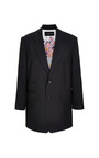 Wool Gabardine Roll Sleeve Blazer by THAKOON for Preorder on Moda Operandi