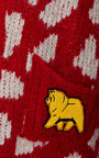 Alpaca And Merino Tricot Bedrock Pattern Cardigan by CALLA for Preorder on Moda Operandi
