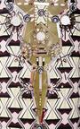 Hour Glass Print Dress by CAROLINA HERRERA for Preorder on Moda Operandi