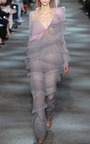 Crinkle Organza Flared Ruffle Pants by MARC JACOBS for Preorder on Moda Operandi
