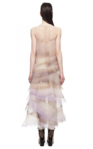 Crinkle Organza V Neck Dress by MARC JACOBS for Preorder on Moda Operandi