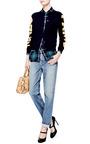 Intarsia Knit Wool Cardigan by KENZO Now Available on Moda Operandi