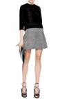 Printed Silk And Jacquard Mini Skirt by KENZO Now Available on Moda Operandi