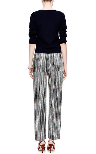 Printed Silk And Jacquard Wide Leg Pants by KENZO Now Available on Moda Operandi