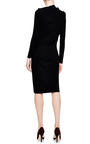 Draped Shoulder Knit Jersey Dress by J.W. ANDERSON Now Available on Moda Operandi