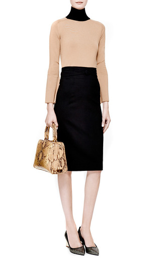 Contrast Collar Wool Sweater by J.W. ANDERSON Now Available on Moda Operandi