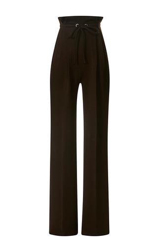 Medium rodarte brown brown wool jersey drawstring pants