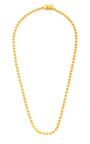 Brushed Gold Plated Mini Cone Necklace by EDDIE BORGO Now Available on Moda Operandi