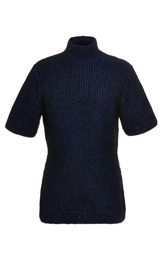 Medium opening ceremony multi mohair knit short sleeve turtleneck