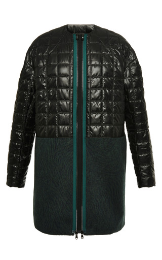 Pieter Ripstop Collarless Combo Coat by OPENING CEREMONY for Preorder on Moda Operandi