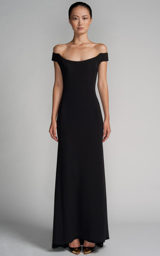 Gucci Halter Gown By New York Vintage Moda Operandi