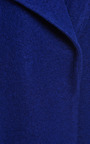 Cobalt Bonded Wool Amorphic Front Coat by OPENING CEREMONY for Preorder on Moda Operandi