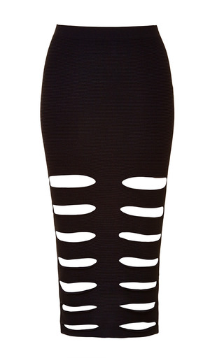 Cut Out Rib Kit Skirt by CUSHNIE ET OCHS Now Available on Moda Operandi