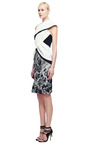 Draped Crepe Back Satin Wrap Around Dress by PRABAL GURUNG for Preorder on Moda Operandi