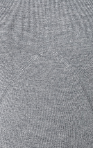 Grey Needle Rib Turtleneck by PRABAL GURUNG for Preorder on Moda Operandi