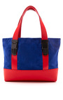 Millie Small Tote In Cobalt by OPENING CEREMONY for Preorder on Moda Operandi