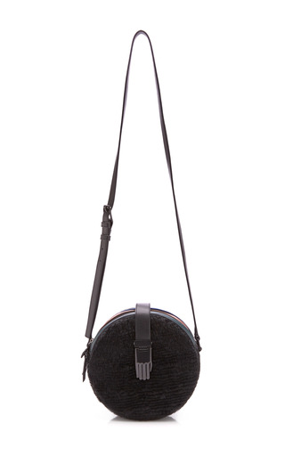 Medium opening ceremony black black roni circle bag
