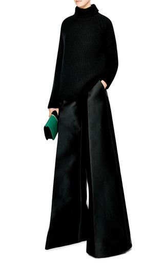 Wide Leg Silk Pants by ANTONIO BERARDI Now Available on Moda Operandi