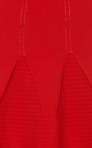 Knit Wool Blend Flared Mini Skirt by ANTONIO BERARDI Now Available on Moda Operandi
