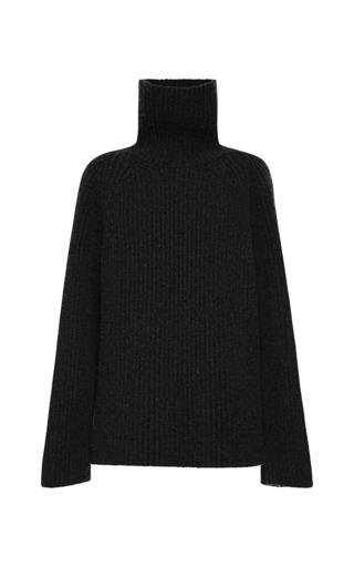 Medium antonio berardi black black cashmere turtleneck 2